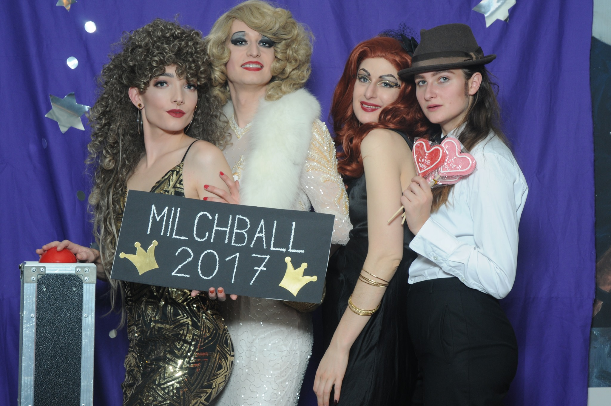 Milchball goes CAMP